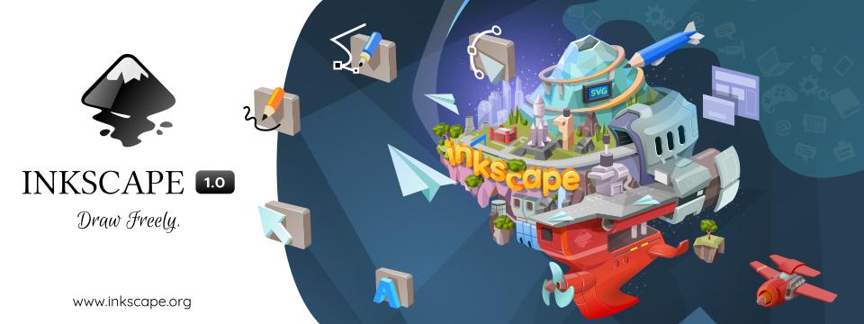Inkscape 1.0 Banner